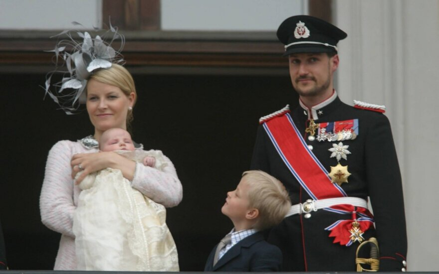 Crown Prince Haakon of Norway and Crown Princess Mette-Marit