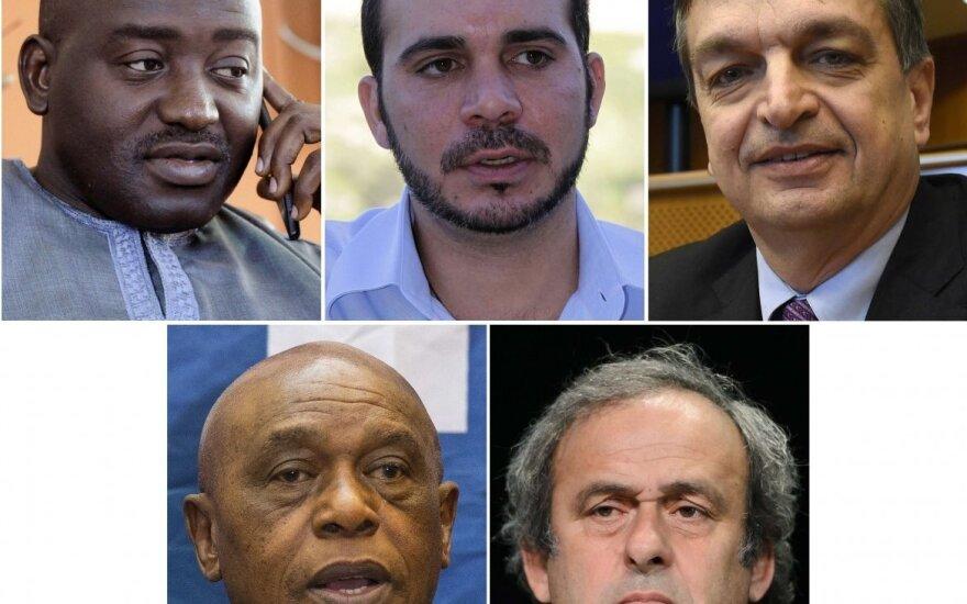 Kandidatai į FIFA prezidento postą