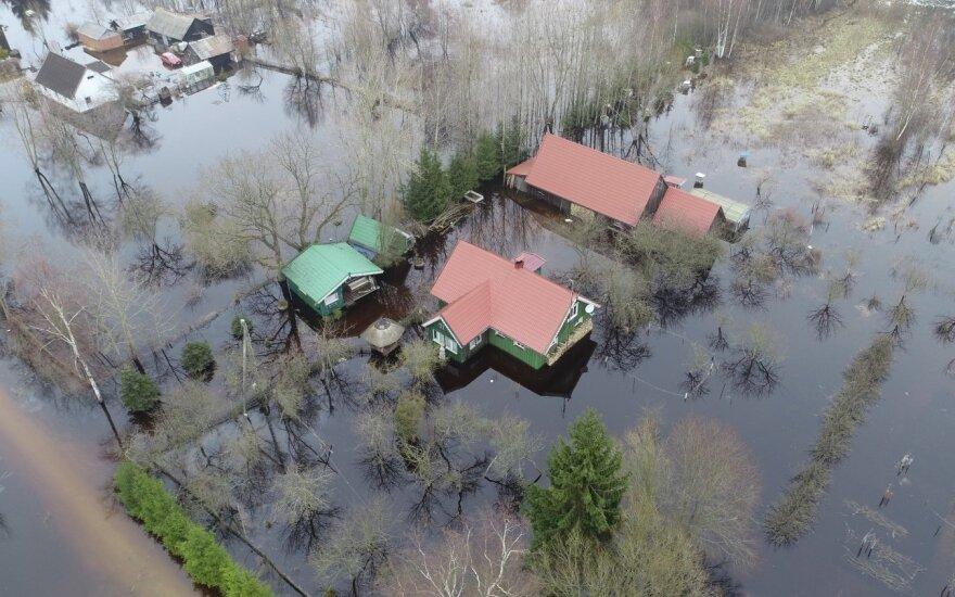 Rusnėje vystomas potvynio turizmas
