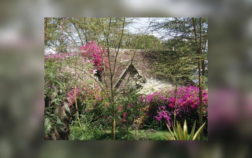 Nacionaliniame Nakuru ežero parke