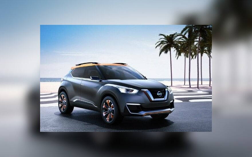 """""""Nissan Kicks"""" prototipas"""