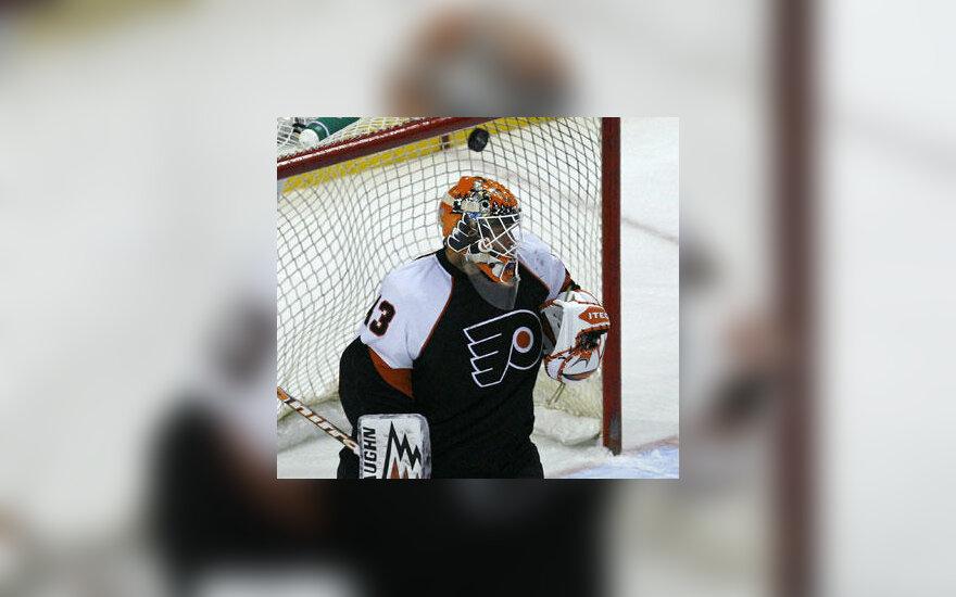 """Philadelphia Flyers"" vartininkas Martin Biron"