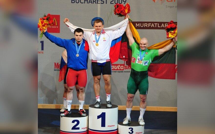Sunkiaatlečiui R.Vyšniauskui – Europos čempionato bronza