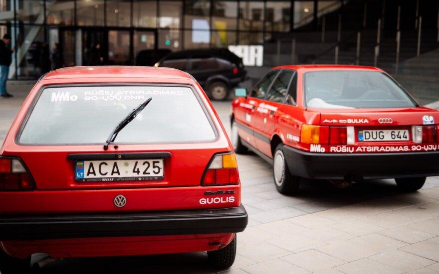 """""""Audi 80"""" ir """"Volkswagen Golf Mk II"""""""