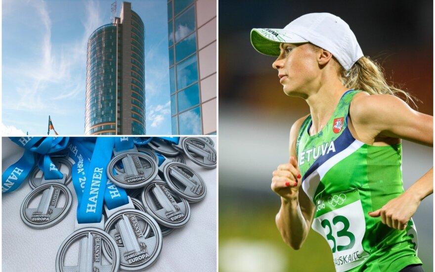 """Dangoraižis """"Europa"""", medaliai, Laura Asadauskaitė-Zadneprovskienė / FOTO: """"Hanner"""" archyvas, Vytautas Dranginis"""