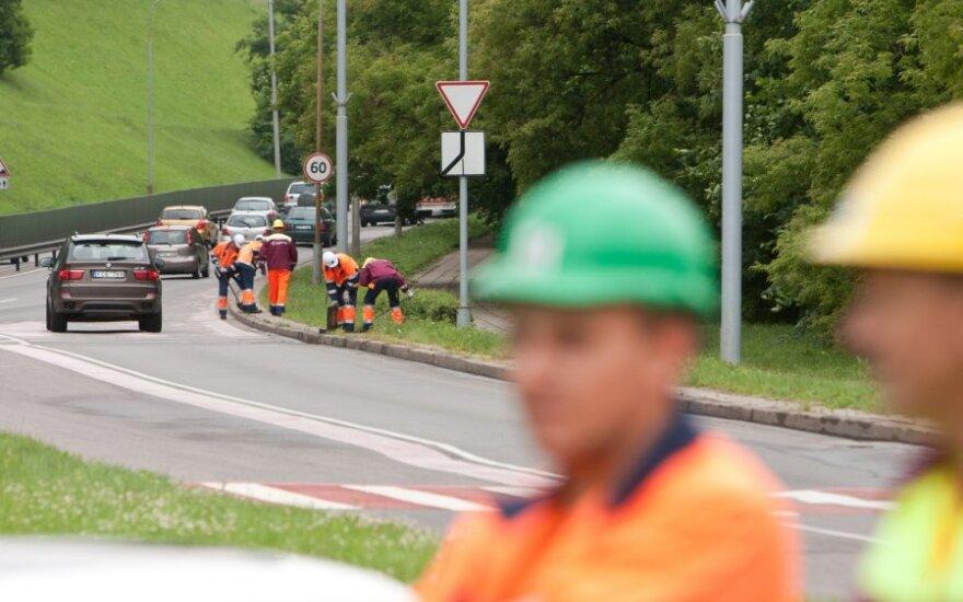 Sostinės Geležinio Vilko g. rekonstrukcijai – 20 mln. Lt