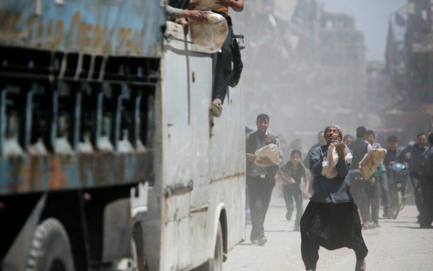 Turkija perspėjo Siriją: gresia humanitarinė katastrofa