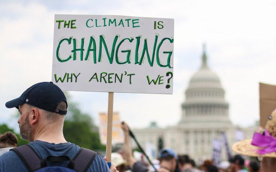 Klimato kaitos protestas