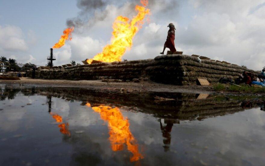 Naftos gręžinys Nigerijoje