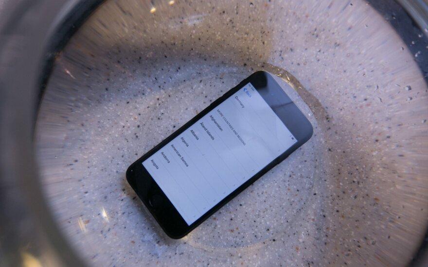 """Paviešinta informacijos dėl galimų """"iPhone 7S"""" bėdų"""