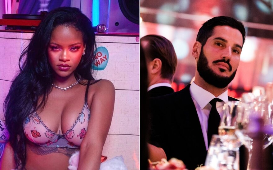 Rihanna ir Hassan Jameel /Foto: Instagram ir Vidapress