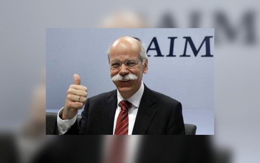 """Daimler AG"" koncerno vadovas Dieteris Zetsche. ""Autonews"" nuotr."