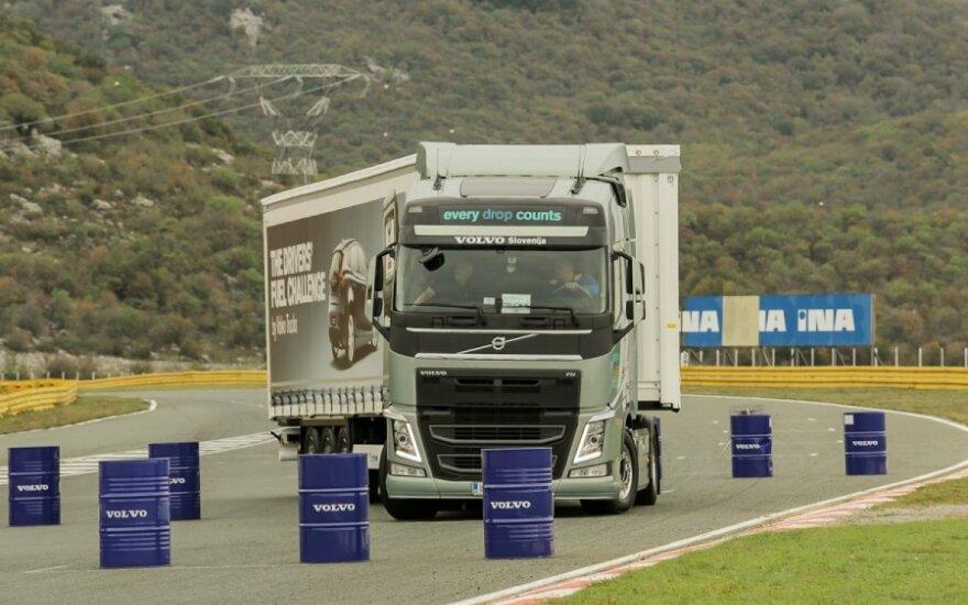 Ekonomiško sunkvežimių vairavimo varžybos