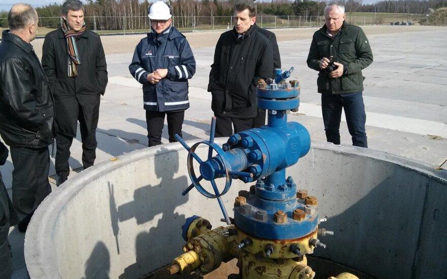 Shale gas bore