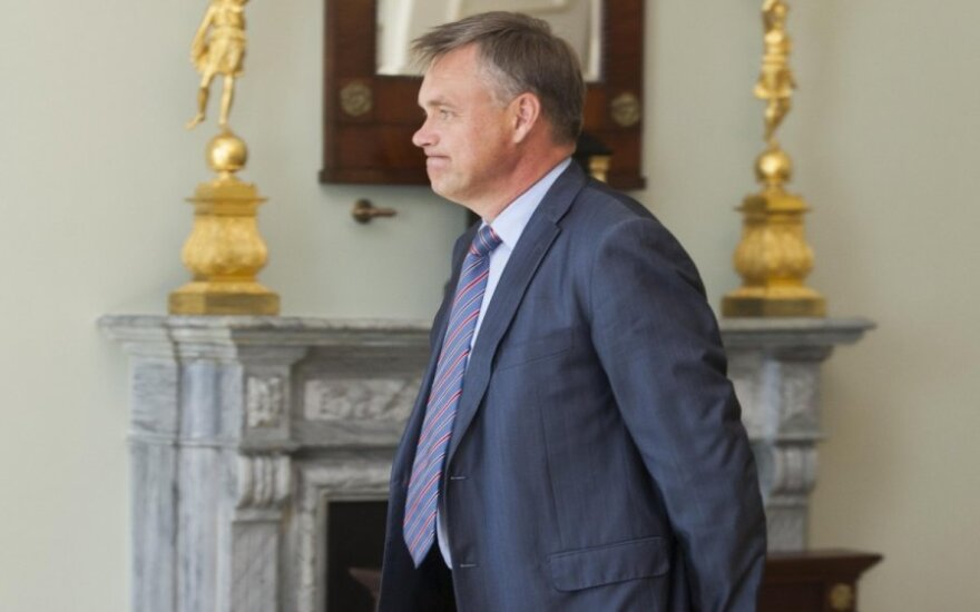 Robertas Dargis, head of the Lithuanian Confederation of Industrialists (LPK)