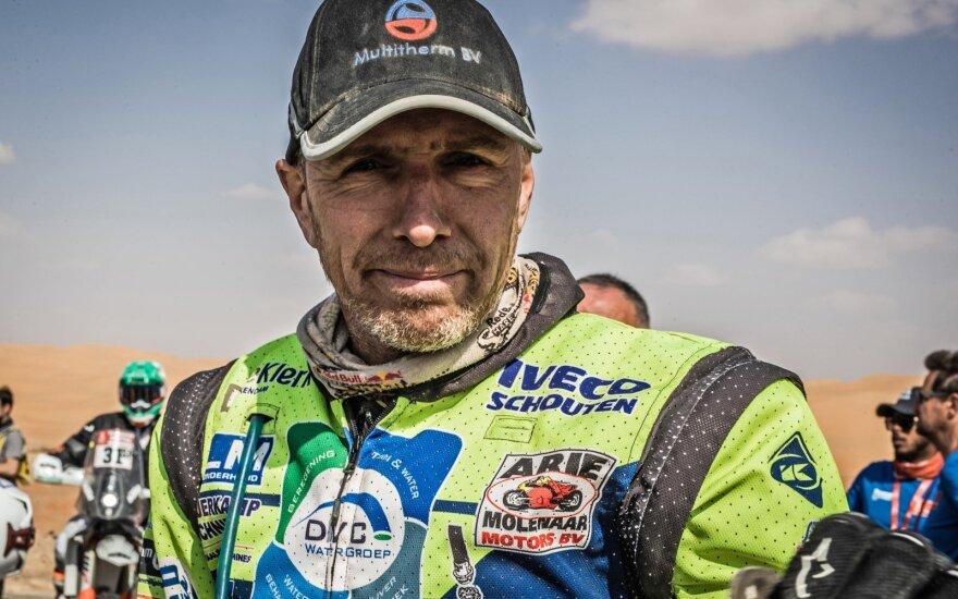 Edvinas Straveris. Dakar.com nuotr.