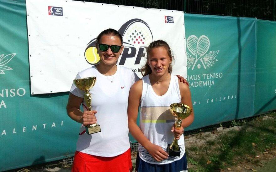 Moterų B lygos čempionės (Z. Grigonienės nuotr.)