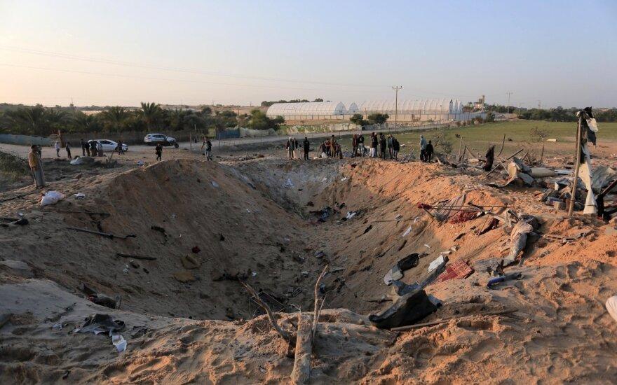 Sulaužytos Gazos–Izraelio paliaubos: į Izraelį paleistos raketos