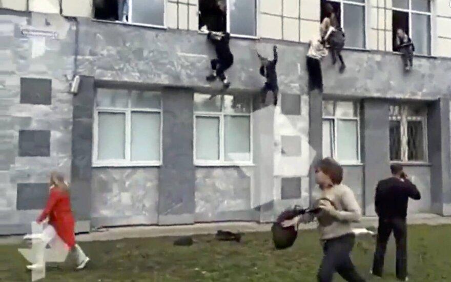 Permės universitete – šaudynės, nužudyti mažiausiai 6 žmonės