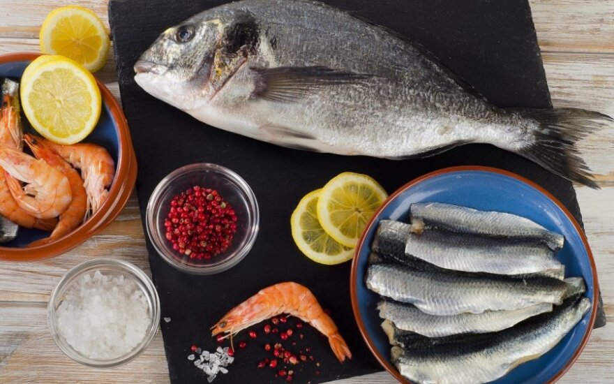 Žuvys ir krevetės