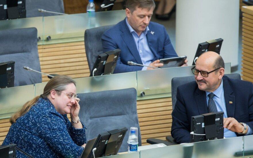 Širinskienė turi siurprizą apie atostogas svajojantiems Seimo nariams