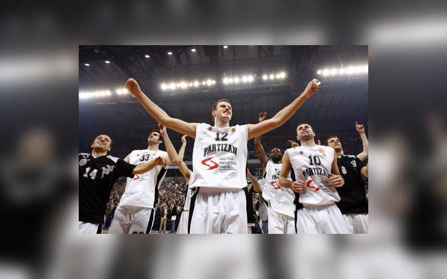 """""""Partizan"""" vėl žais didžiojoje Belgrado arenoje"""