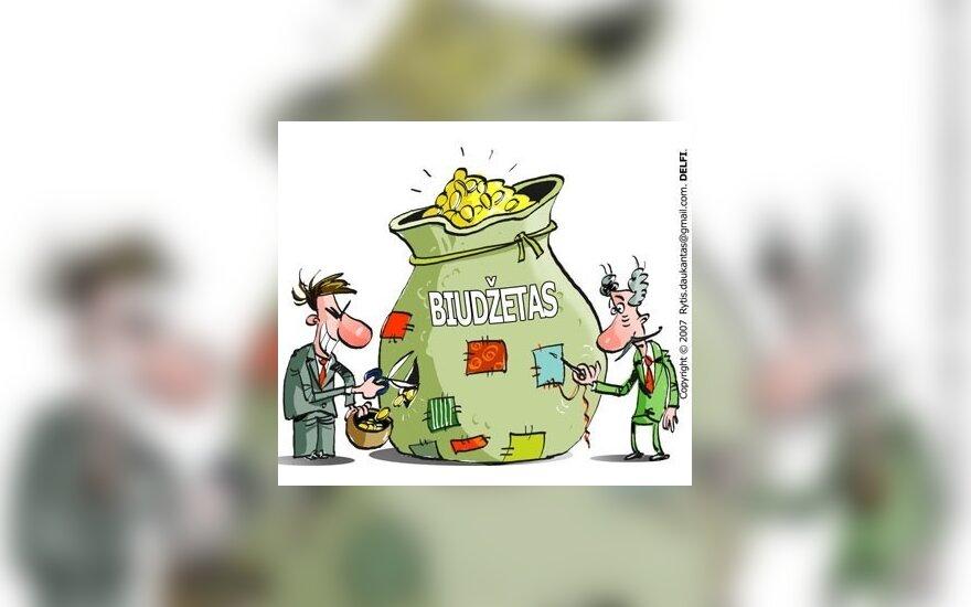 Per I pusm. į valstybės biudžetą įplaukė beveik 2 mlrd. Lt mažiau nei pernai