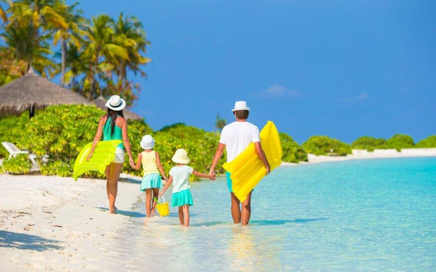 Lietuvių atostogų planuose – daugiau saugumo priemonių ir laiko su šeima