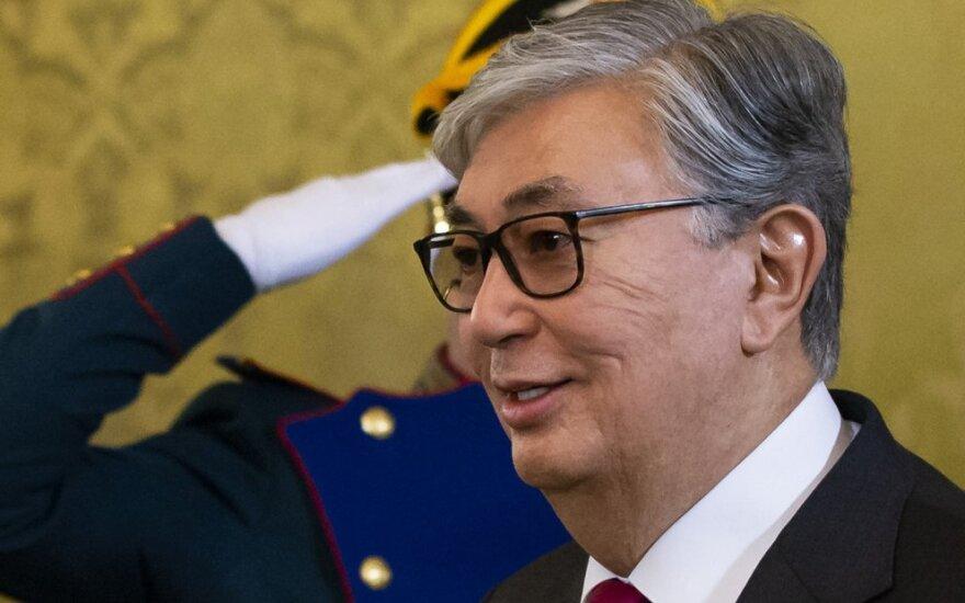 Kazachstano laikinasis prezidentas Qassymas-Jomartas Toqaevas