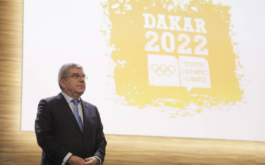 Dakaro jaunimo olimpinės žaidynės perkeliamos į 2026 metus