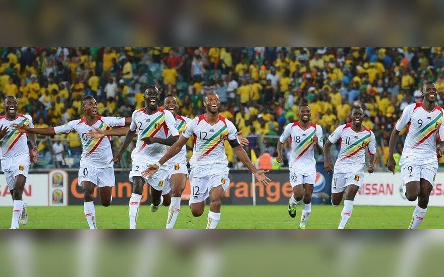 Malio rinktinės futbolininkai