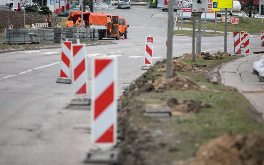 Karantino metu ragina Vilniuje atlikti daugiau kelio darbų: dabar tam – palankus metas
