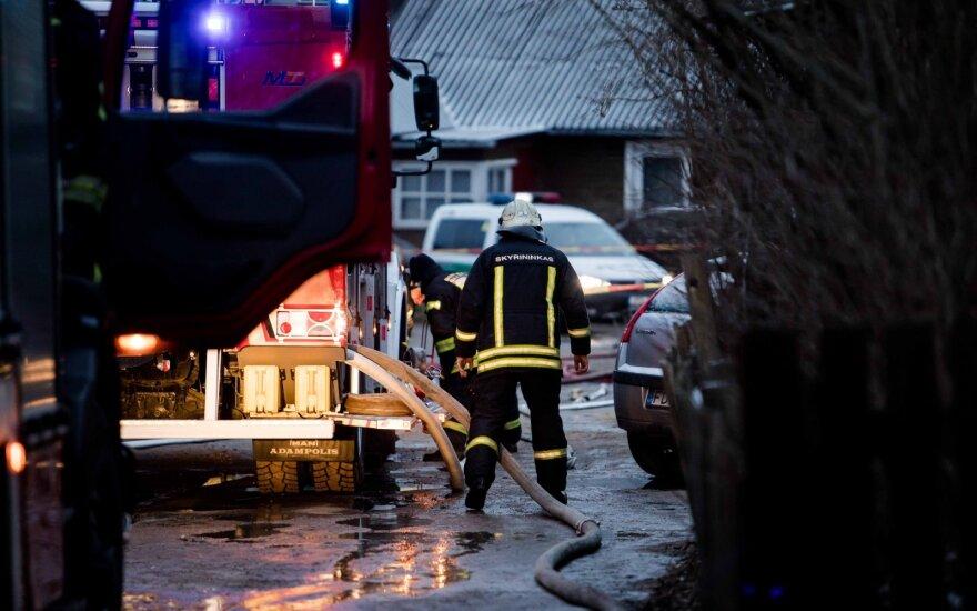 Vilniuje ir Ignalinos rajone įvykdyti padegimai