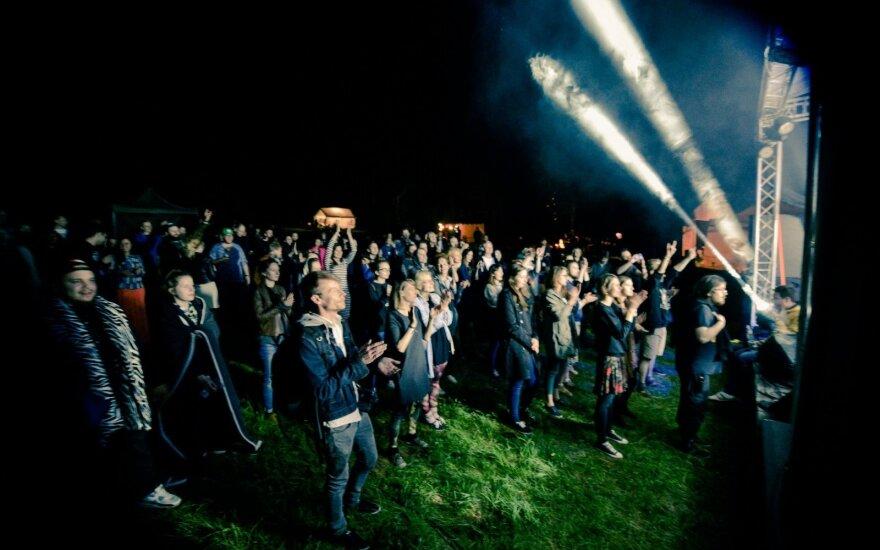 Festivalio akimirka / FOTO: Kazimieras Šešelgis