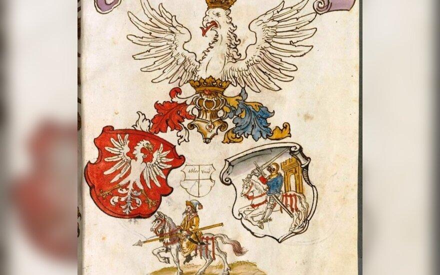 Senuosius Lietuvos herbus saugoja Bavarijos valstybinė biblioteka