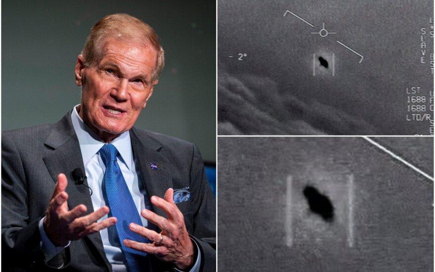 NASA vadovas B. Nelsonas tiki, kad nesame vieni.