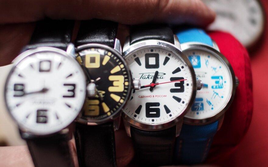 """""""Raketa"""" laikrodžiai"""