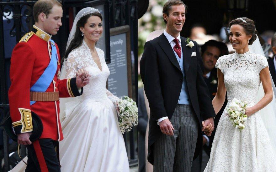 Princas Williamas, Kate Middleton, Jamesas Matthewsas