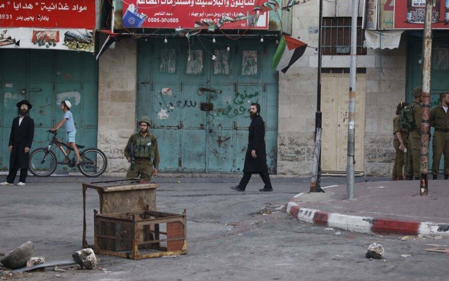 Izraelio kariai per reidą Betliejuje nušovė palestinietį paauglį