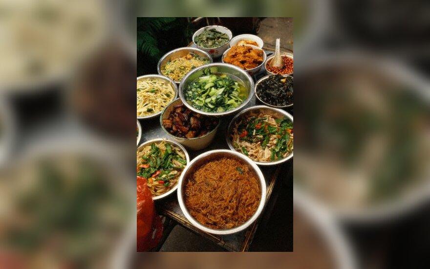 Kinija, kinų maistas