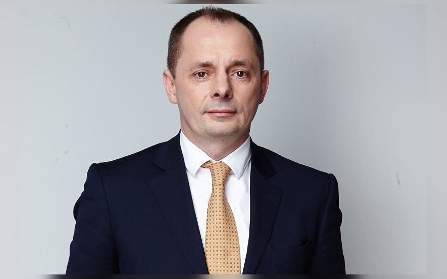 Registrų centro finansų ir administravimo direktorius Sergejus Ignatjevas