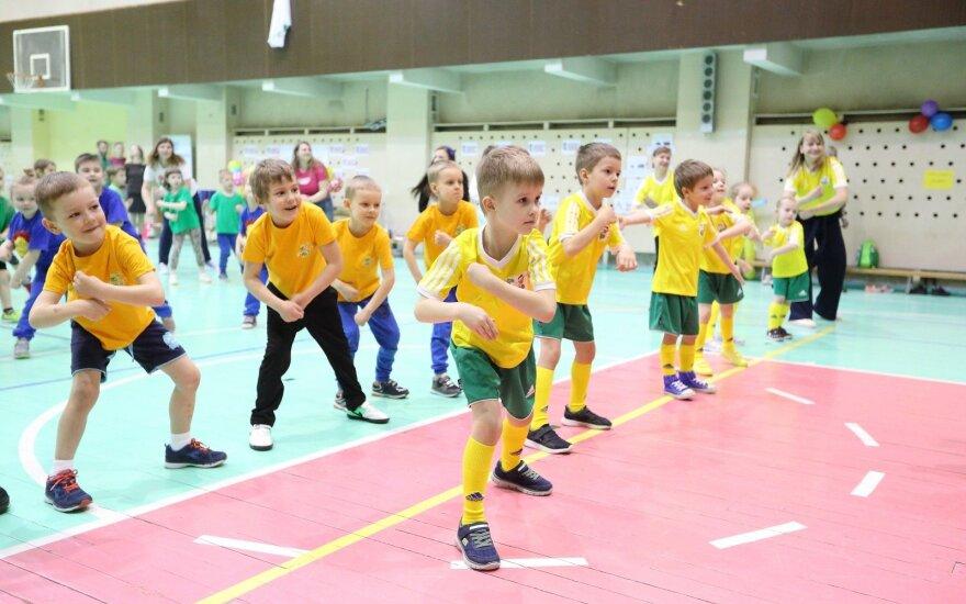 Įpusėjo Lietuvos mažųjų žaidynės