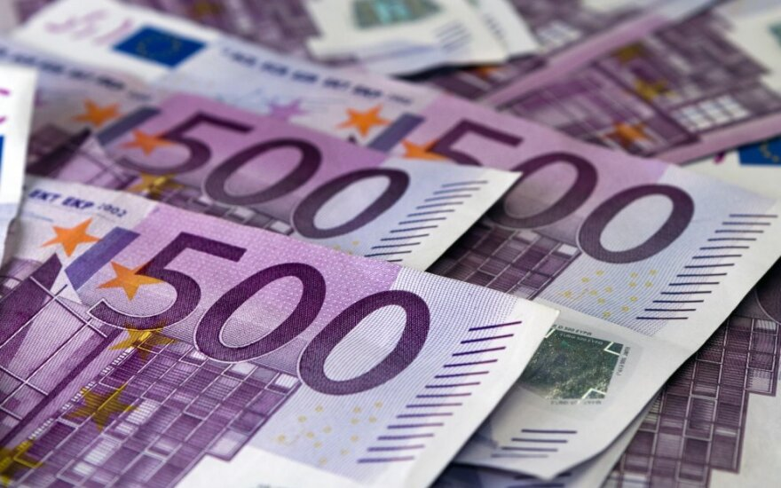 500 eurų kupiūros