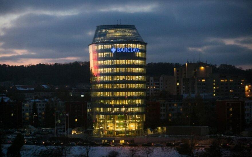 Barclays building in Vilnius