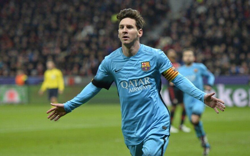 L. Messi – geriausias 2015 metų Argentinos futbolininkas