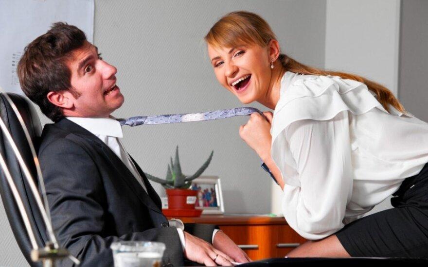 5 dalykai, ko nederėtų daryti darbe