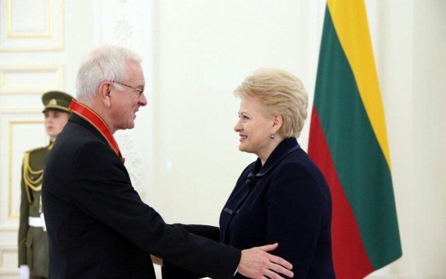 H.G.H. Poeteringui – valstybės apdovanojimas už paramą Lietuvai