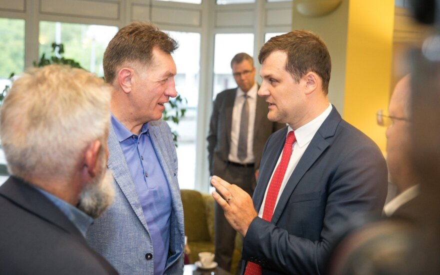 Algirdas Butkevičius, Gintautas Paluckas