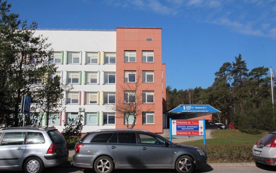 Girtą kūdikį Klaipėdoje pagimdžiusi moteris staiga atsisakė tolesnio gydymo ir išvyko iš ligoninės