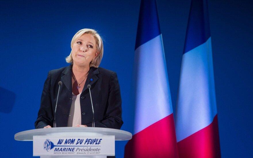 M. Le Pen pripažino nuplagijavusi dalį F. Fillono kalbos